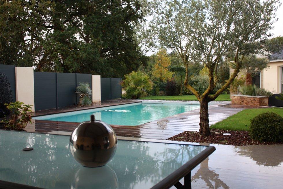 Exotique paysage for Paysagiste piscine