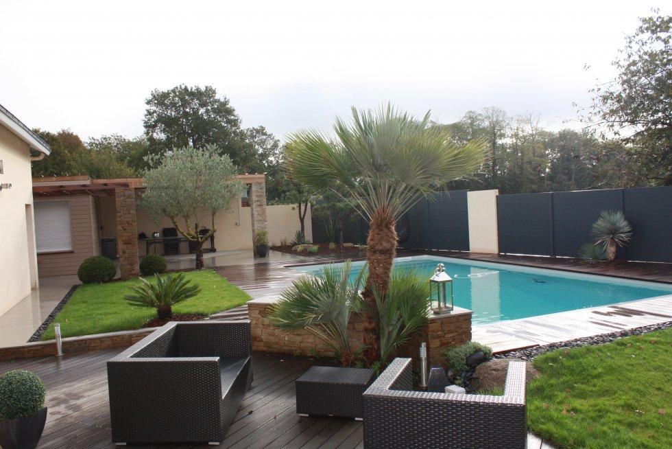 Amenagement jardin exotique trouver un endroit luombre et bien abrit du vent les jardins - Bac bassin rectangulaire creteil ...